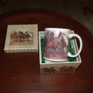Wild Horses by Revelations Coffee Mug Gift Box